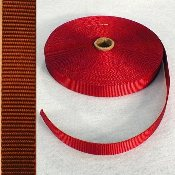 "1"" RED NYLON WEBBING"