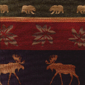 Moose And Bear Fabric http://www.lylefabrics.com/YOSEMITE-MOOSE-BEAR-WILDLIFE-FABRIC-REGAL-YOSEMITE-NUTMEG.htm