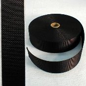 "2"" BLACK NYLON WEBBING"